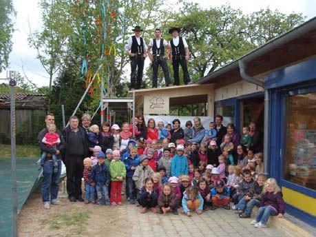 Richtfest im Kindergarten Wolpertshausen